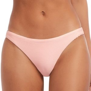 Vitamin A Luciana Ribbed Rib Bikini Bottoms Swim